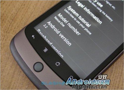 Nexus One手机Android 2.2系统推出FRF72版