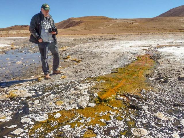 科学家在智利发现与火星沉积物相似的物质