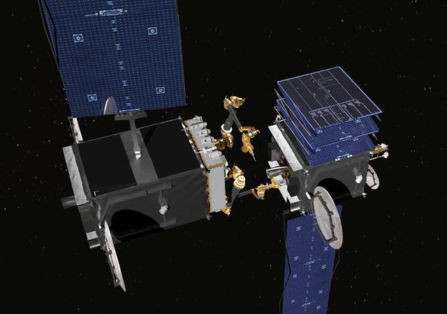 卫星公司为darpa开发空间机械臂 可在太空中作业图片