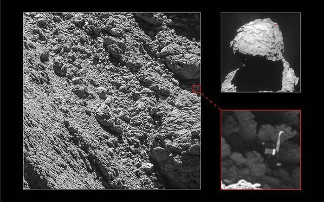 十二年太空探索落幕 罗塞塔号长眠67P彗星