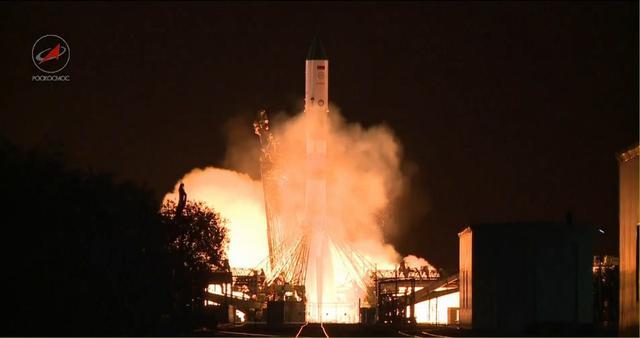 俄罗斯成功向国际空间站发射进步号货运飞船