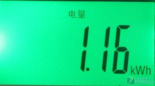 三菱电机空调KFR-36GW/L制热一小时耗电量-三菱电机1.5P空调首测 高清图片