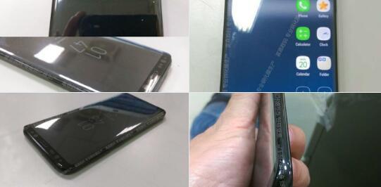 三星Galaxy S8谍照曝光:设计更新 屏幕更大