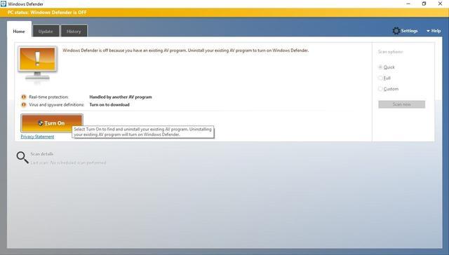 卡巴斯基抨击微软Windows10实施杀毒软件不公平竞争