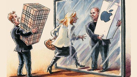 苹果和博柏利都是控制狂:不管线上还是线下