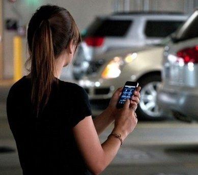 未来汽车将相互联网 智能手机就是遥控器
