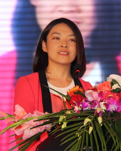 互联网协会网络营销委员会秘书长王海晶致辞