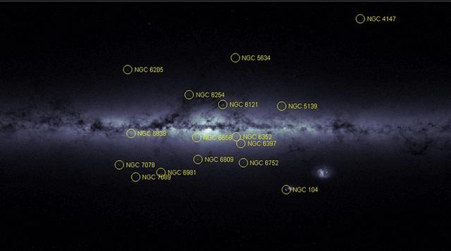 """天文学家公布两张最详细银河系""""指纹地图"""""""