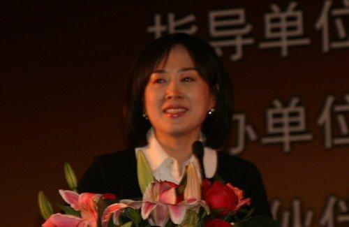 敦煌网美女CEO王树彤演讲