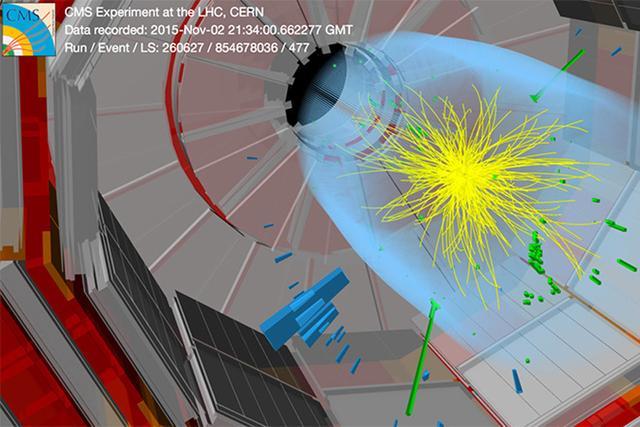 欧洲对撞机或又发现新粒子