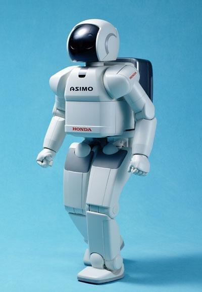 机器人阿西莫度过十岁生日 已能分析人类思考