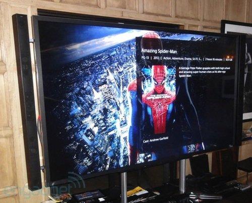 索尼15万元4K高清液晶电视体验 可用平板遥控
