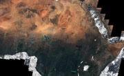 7000多张卫星图像合成一张高清非洲大陆地图