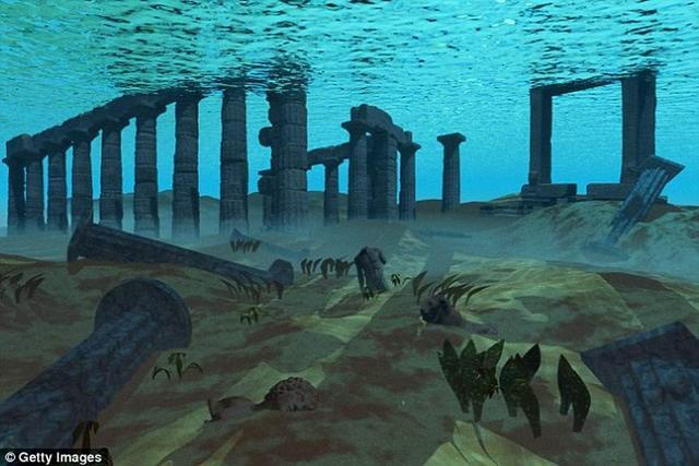 """公元前1500年致命海啸摧毁了""""亚特兰蒂斯"""""""