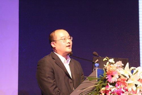 图文:新科导航有限公司总经理秦春达讲演
