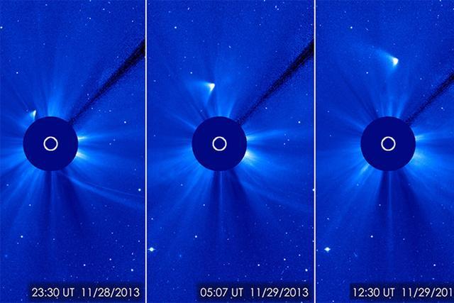 SOHO太阳探测器服役20载 发现近3000颗彗星