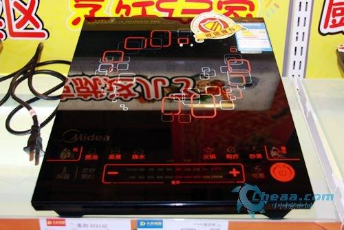 美的电磁炉ST2132抢先看 2010新款上市