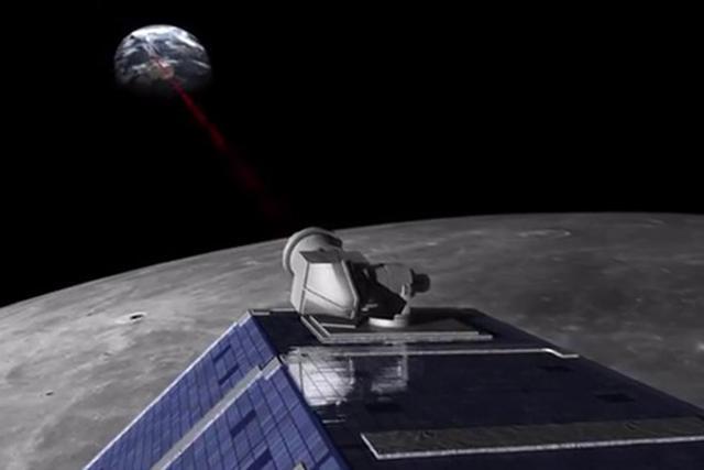 NASA测试空间激光通信技术