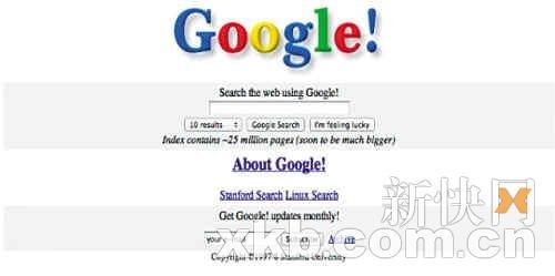 """那些年 网站巨头们""""青涩""""的模样"""