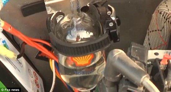 """最新环保""""薄层电动车"""" 1加仑可行驶584英里"""