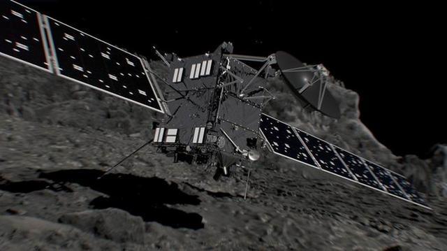 罗塞塔探测器勘测67P彗星获得的五大发现