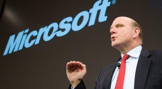 微软宣布鲍尔默将于年内退休