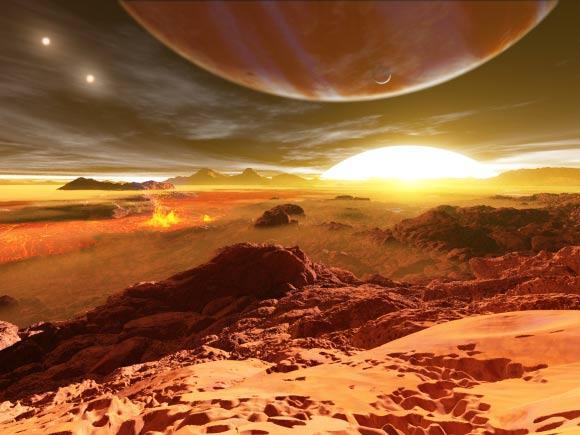 最新推测类地行星有圆形轨道 气候适宜生命