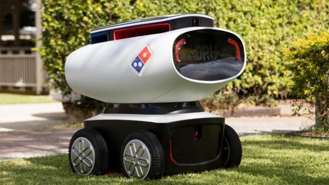 欧洲机器人快递员已上路 中国有望今年投入使用