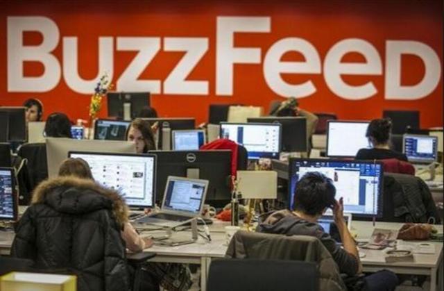 BuzzFeed最新估值17亿美元 已与纽约时报不相上下