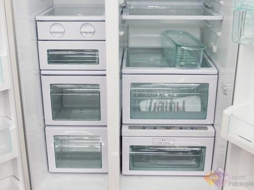 极尽奢华 时尚设计新品对开门冰箱盘点