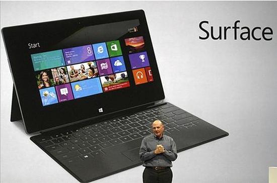 上财年Surface平板电脑销售额8.53亿美元