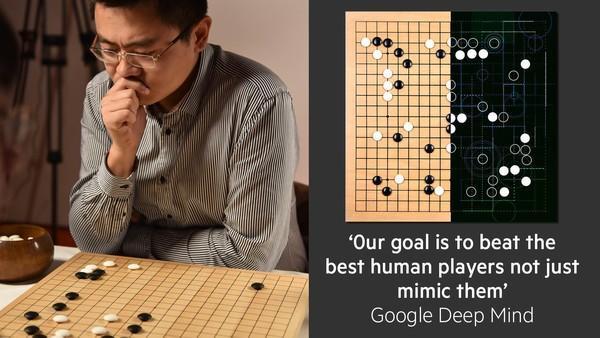 谷歌人工智能要和世界围棋冠军李世石连战五场