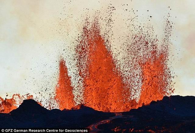 最新研究揭晓了巴达本加火山喷发重要信息