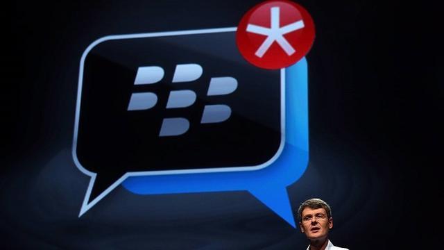 黑莓:iMessage垃圾信息多 大家来用BBM