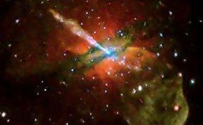 超大黑洞相当于40亿颗太阳