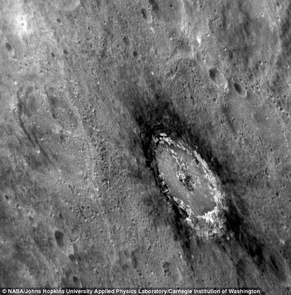 科学家最新研究揭晓水星暗深色表面形成之谜