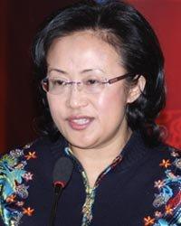 海信电器北京营销公司总经理宋海燕演讲