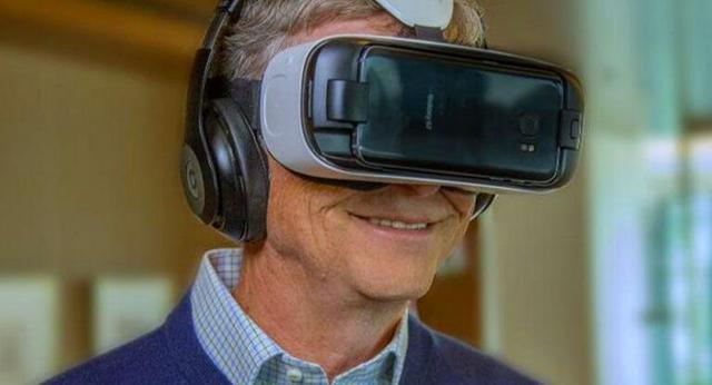 比尔·盖茨开通三星VR频道:你能和他一起对话