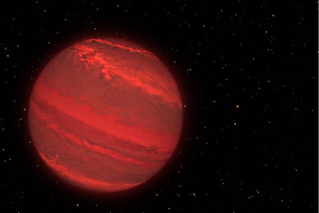 科学家首次测定170光年外行星的自转速率