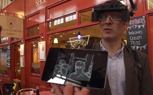 牛津大学研发另类智能眼镜:助弱视者看清世界