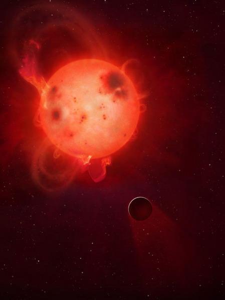 类地行星大气层被主恒星剥离导致不孕育生命