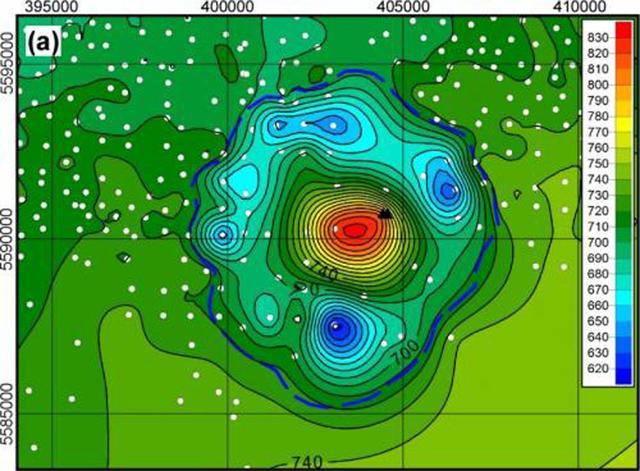 """加拿大发现7000万年前""""天地大冲撞""""陨石坑"""