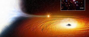 天文学家发现神秘白矮星 每28分钟环绕黑洞一周