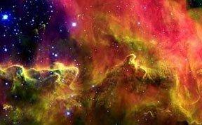 天文学家观测到迷幻多彩泻湖星云