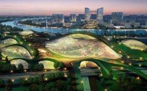 盘点12款未来绿色之城