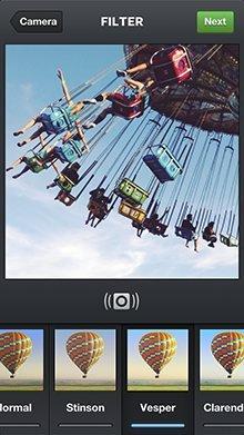 Instagram界面截图