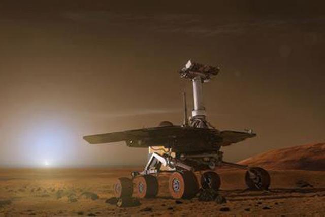 机遇号火星车结束对马拉松谷的探索