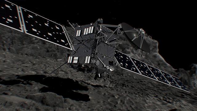 就在今晚!欧洲罗塞塔号探测器将着陆彗星 终结十二年太空使命