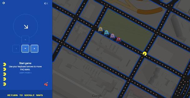 看谷歌地图这次如何玩转愚人节