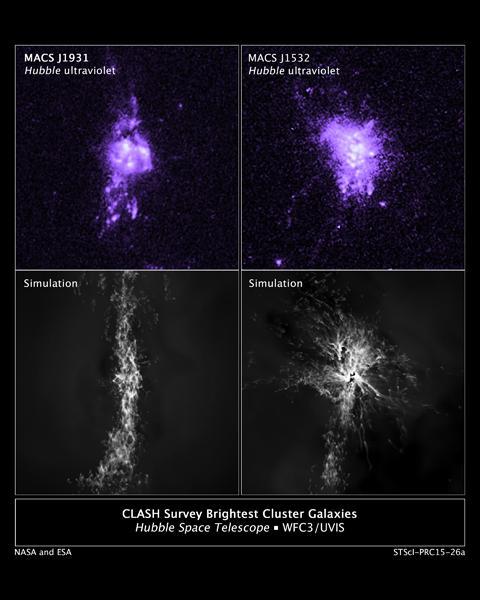 美国宇航局发现黑洞喷流可控制恒星形成